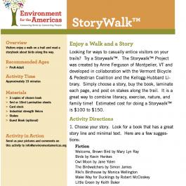 Story Walk Activity