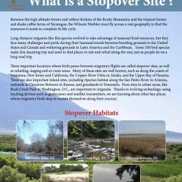 Stopover Site Factsheets