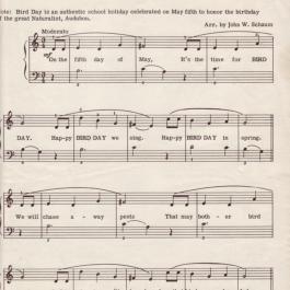 Happy Bird Day – Music Score